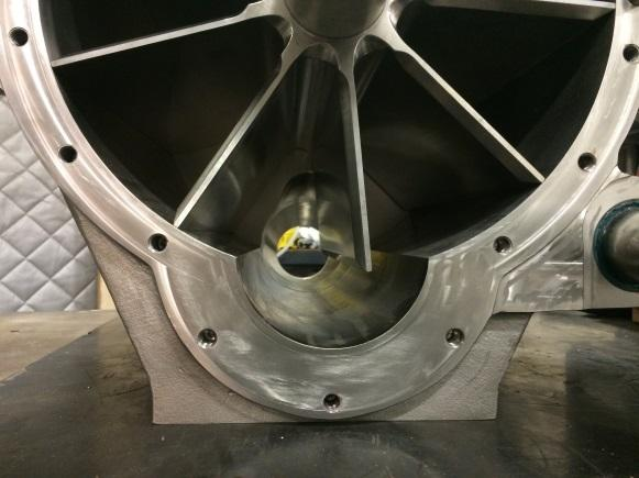 Close Up of Blow Through Rotary Valve